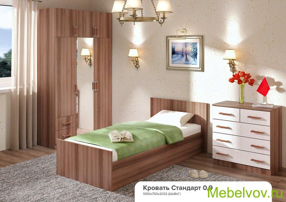 Кровать Стандарт-09 шимо
