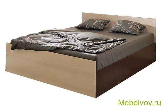 Кровать Стандарт-1.6 венге